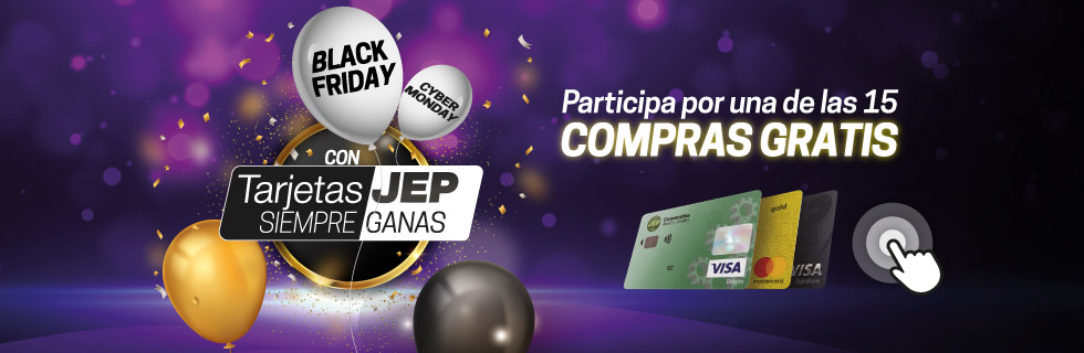 Black Friday con tus TarjetasJEP