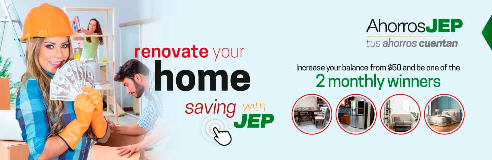 Renovate your home wich JEP
